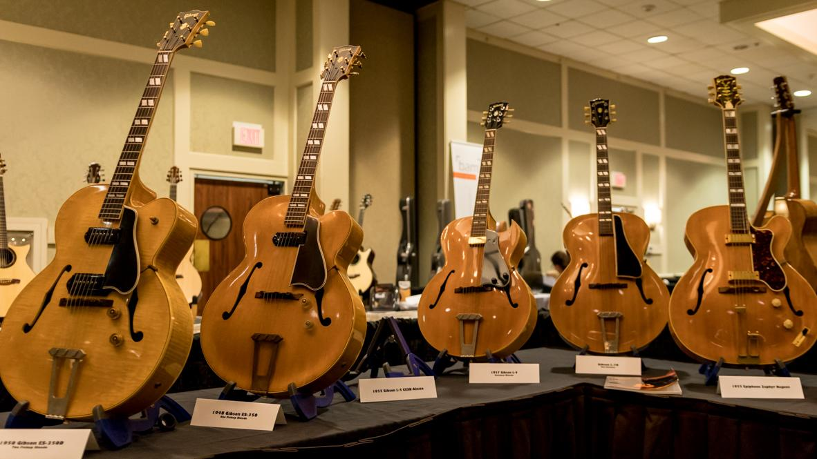Artisan Guitar Show - Archtops