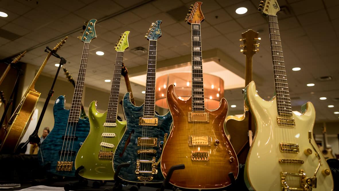 Artisan Guitar Show Harrisbur- Electric