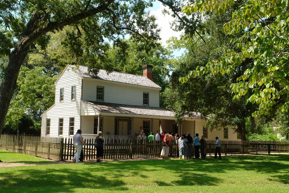John Jay French Historic Home Exterior