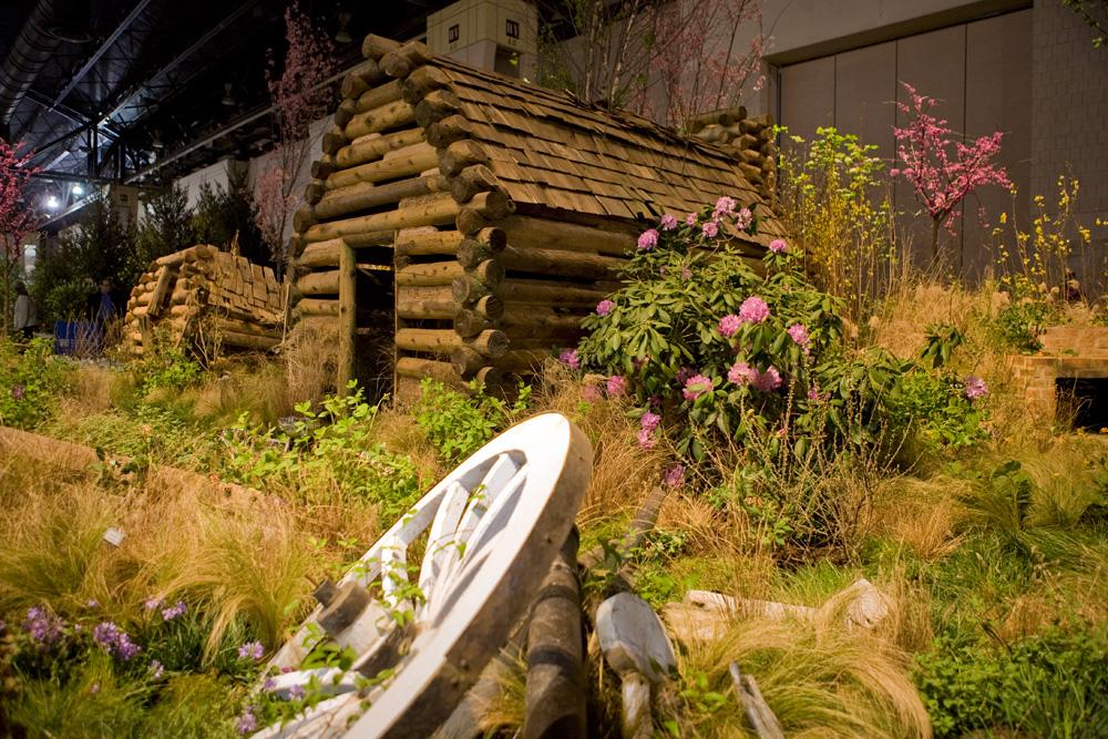Valley Forge National Historical Park inspired this 2016 Philadelphia Flower Show entry from Hunter Hayes Landscaping, Ardmore, winning gold and silver awards. Hunter Hayes is among this year's local competitors, along with five other entrants from Montgomery County, PA., Also representing the county at this year's show is the Valley Forge Tourism & Convention Board, citing the county's broad appeal