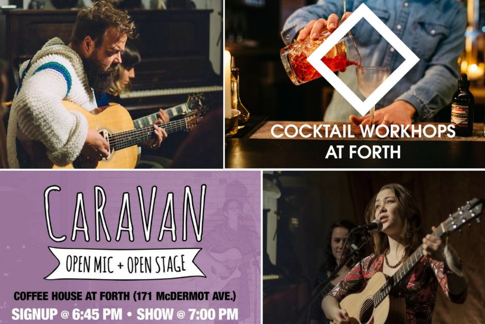Forth coffeehouse events