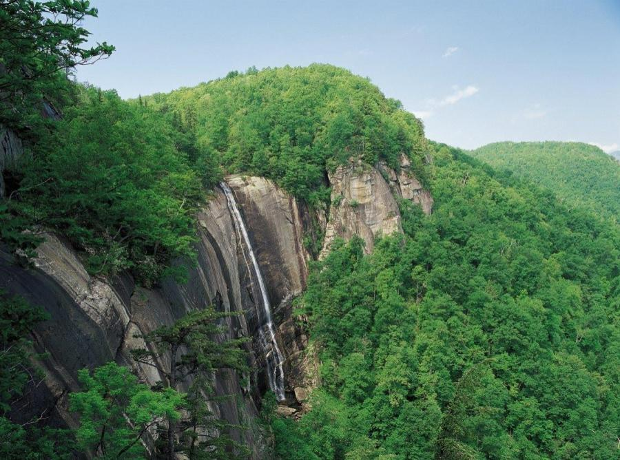 Amazing Trails and Waterfalls in Chimney Rock State Park
