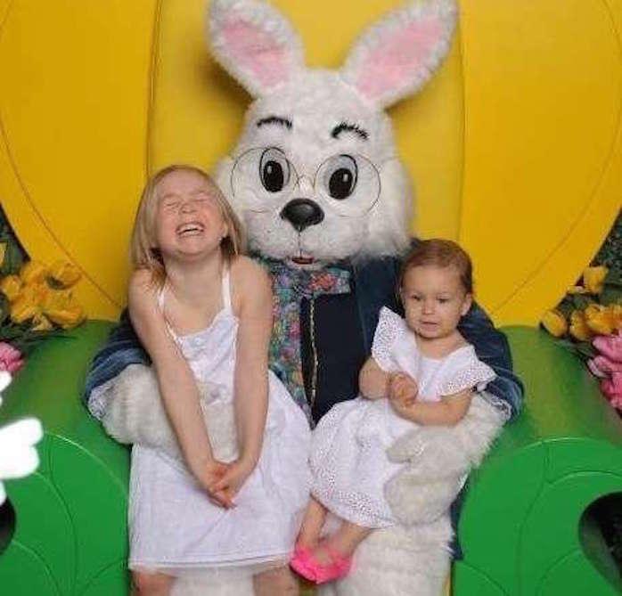 Conejo de Pascua en Galleria Houston