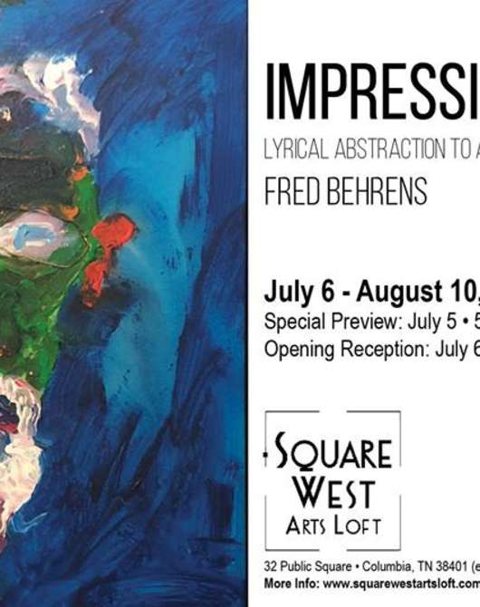 Impressions: Solo Art Show by Fred Behrens