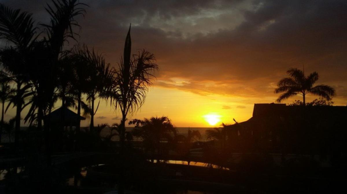 Cliff Hotel- Sunset