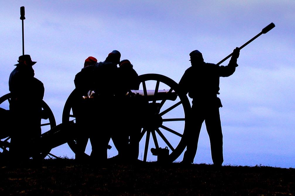 Canon at Fort Fisher State Historic Site