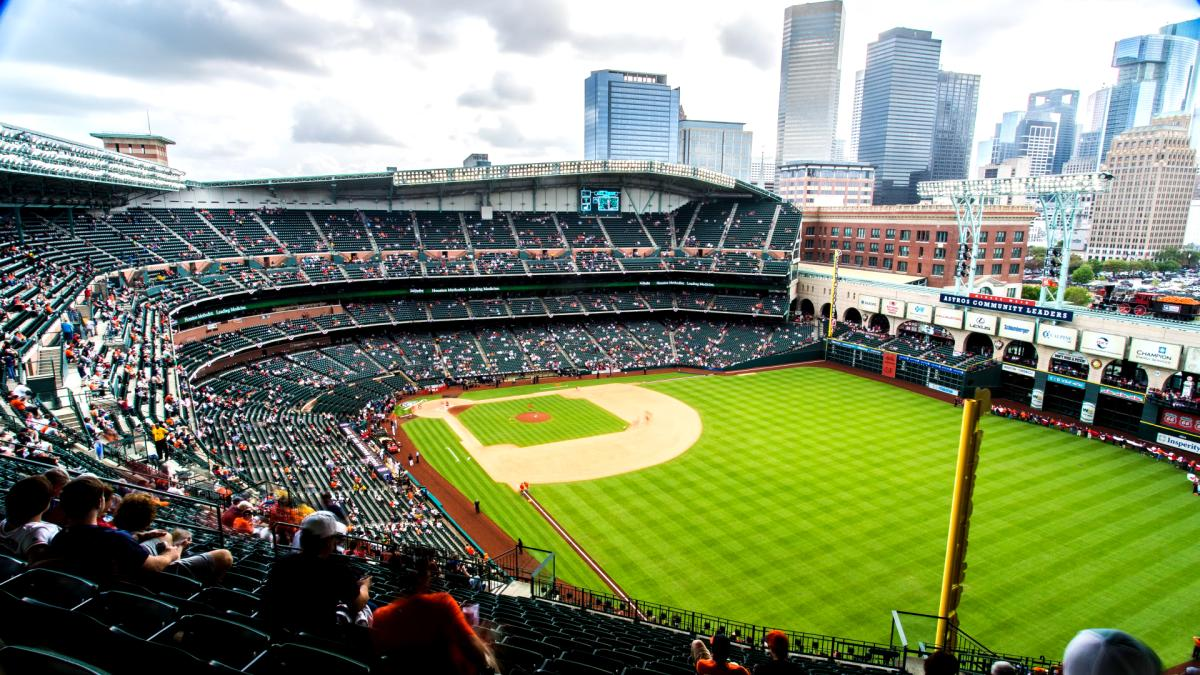 Minute Maid Park Day