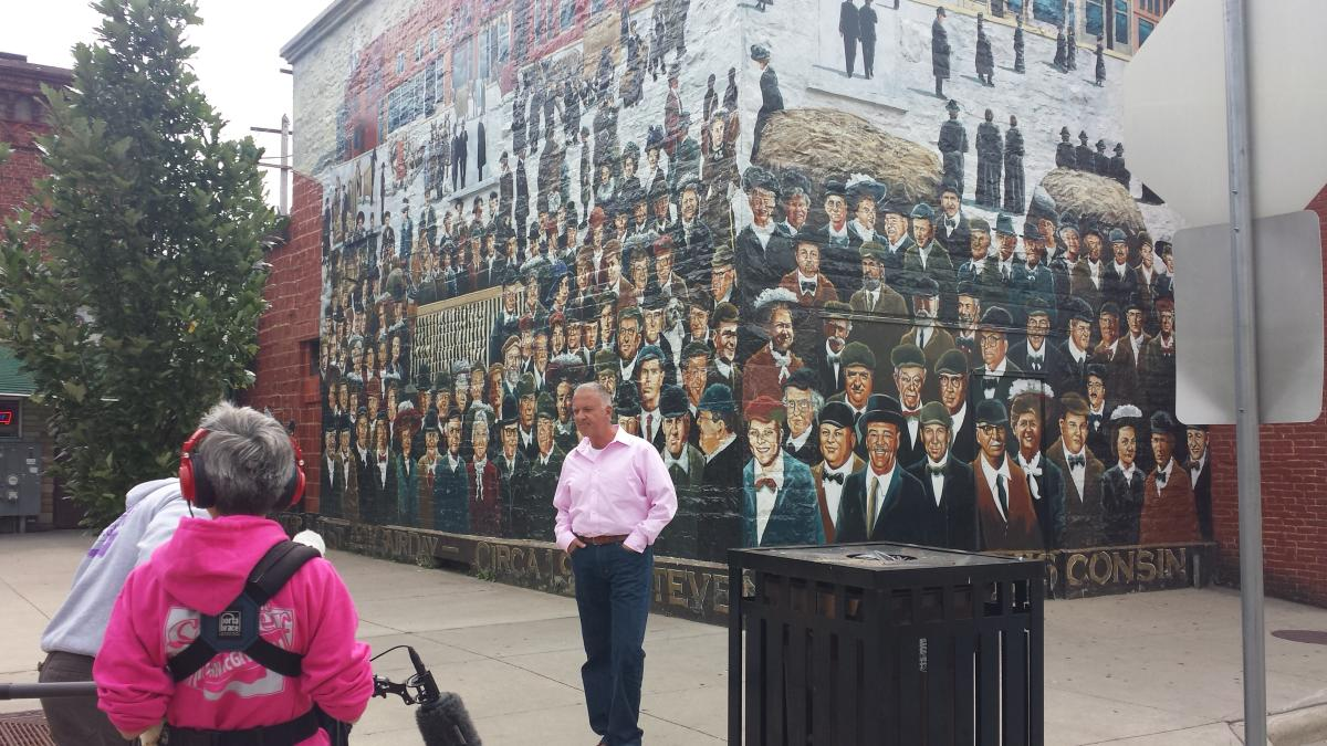 Come along as the show Around the Corner with John McGivern explores the Stevens Point Area