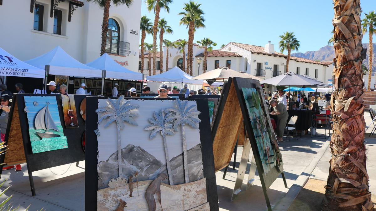 Art on Main Street in La Quinta