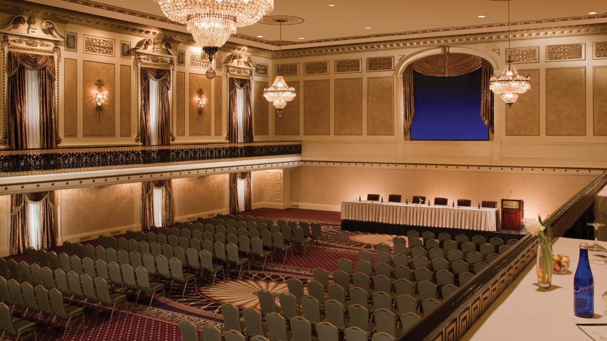 Roosevelt Hotel, Interior, Grand Ballroom