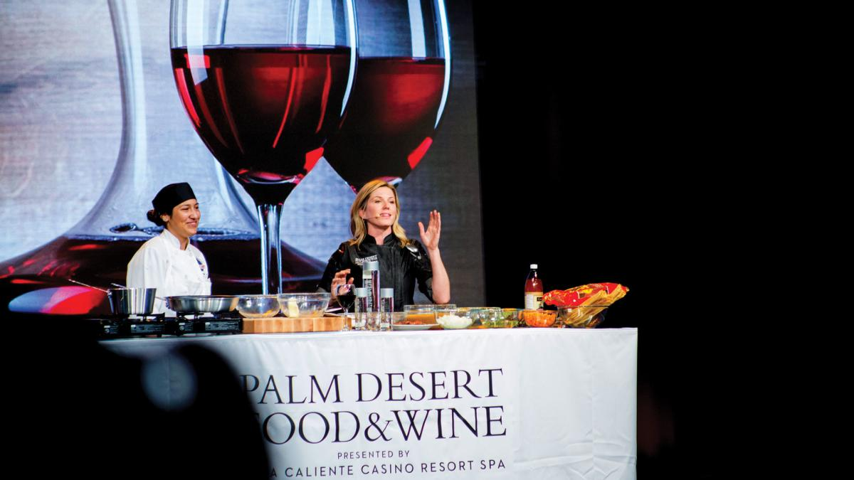 Food and Wine Palm Desert Chef Demo