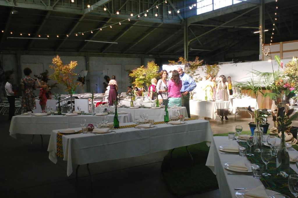 Wedding Tables with Trees