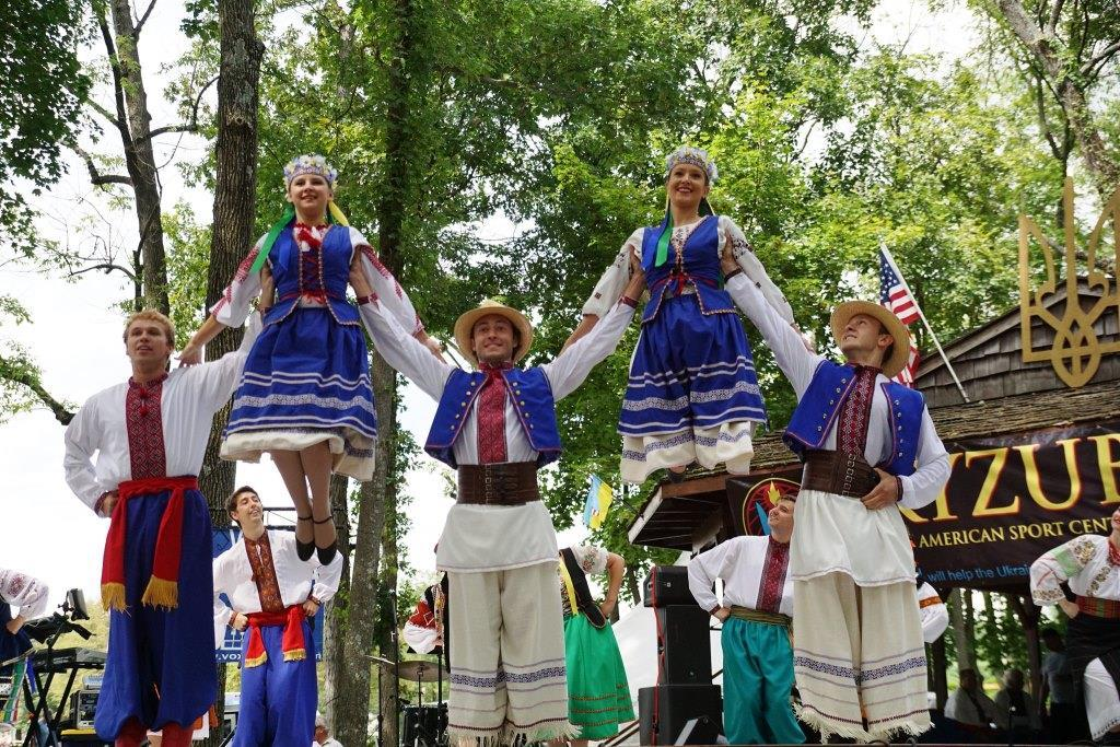 ISKRA are among the featured performers at the 26th Ukrainian Folk Festival