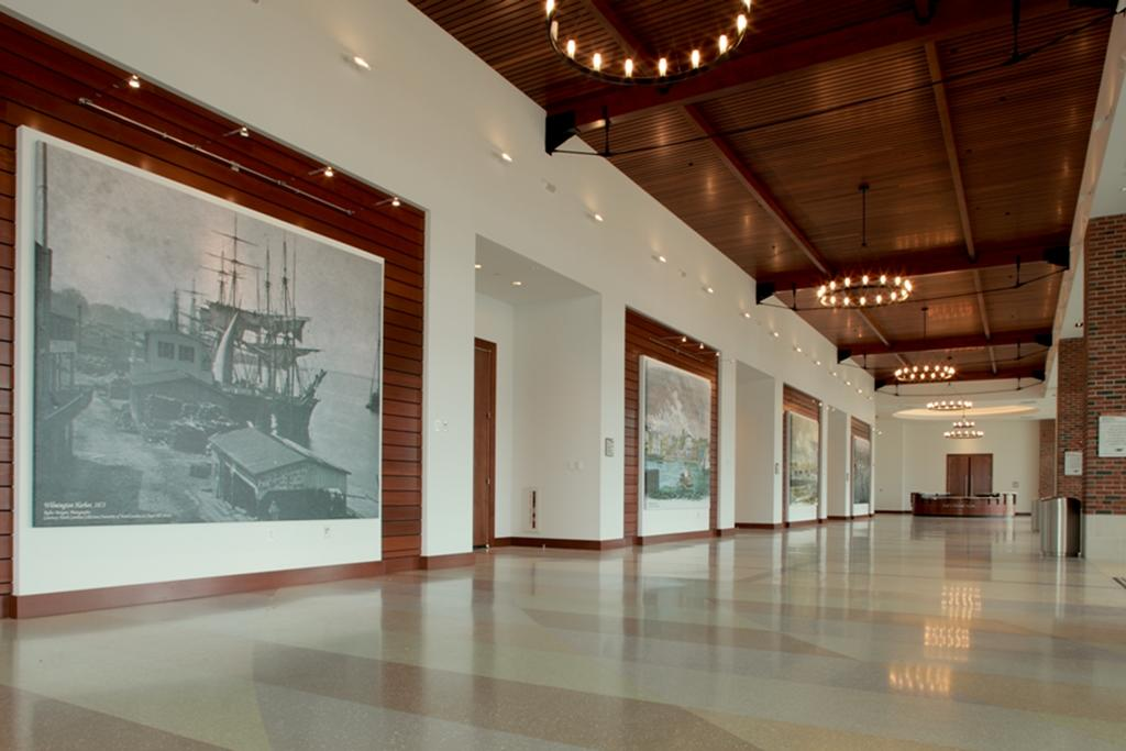 WCC Maritime Arts hallway
