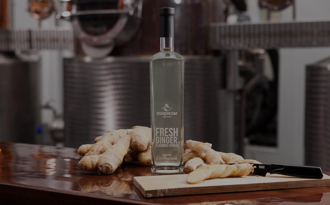 Boardroom Spirits Ginger Vodka