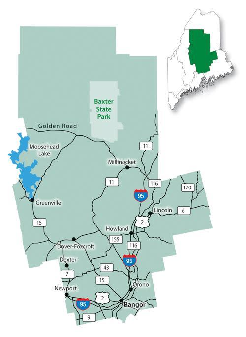Highlands map