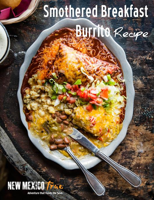 SMOTHERED BREAKFAST BURRITOS