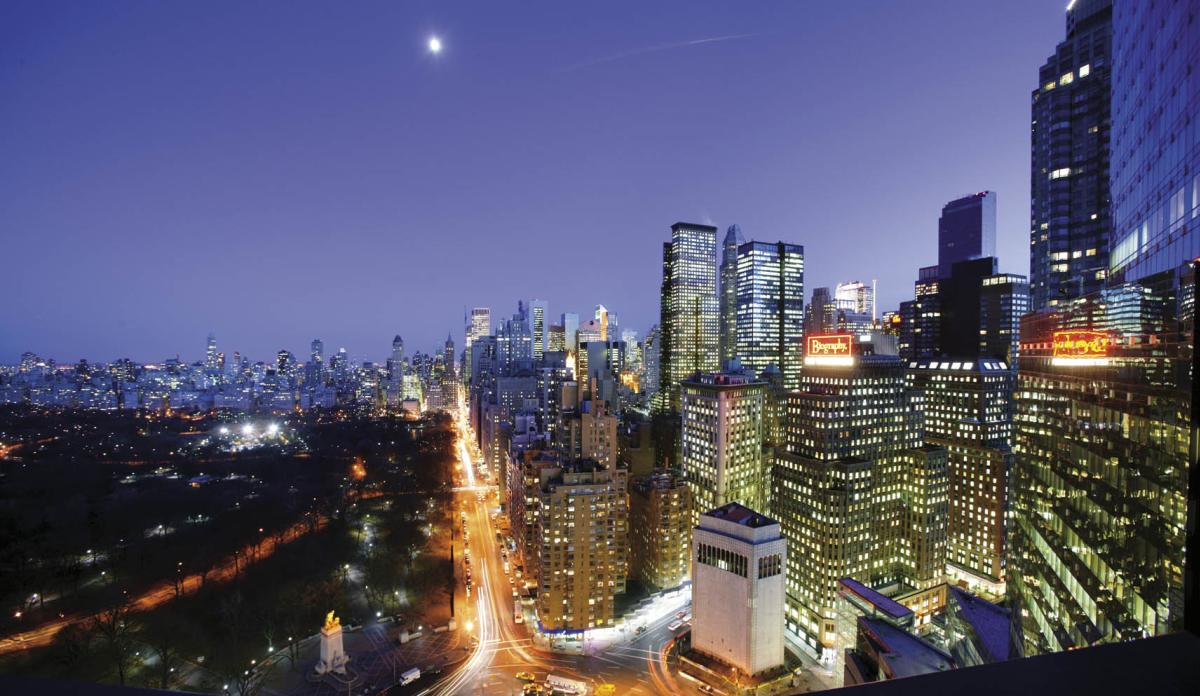 Columbus Circle View, Mandarin Oriental