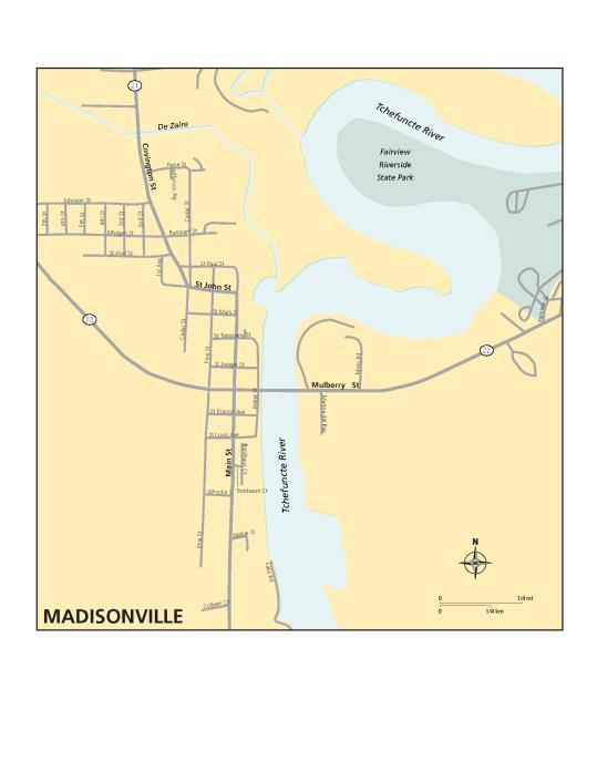 Madisonville Map