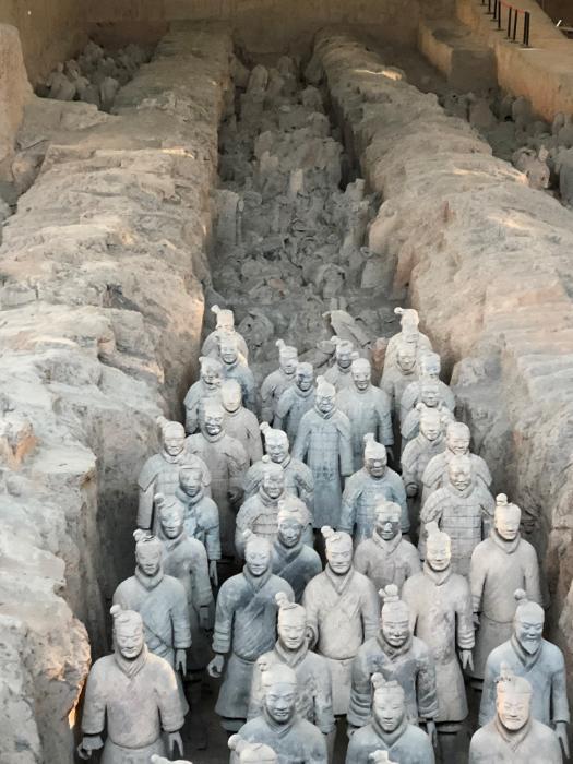 Terracotta Army excavation site