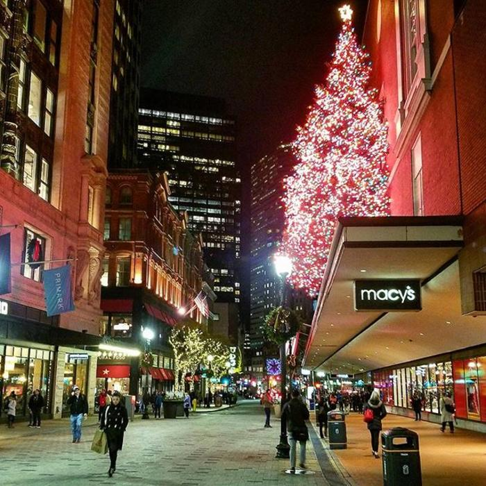 Boston's Holiday Lights Trail, Downtown Crossing