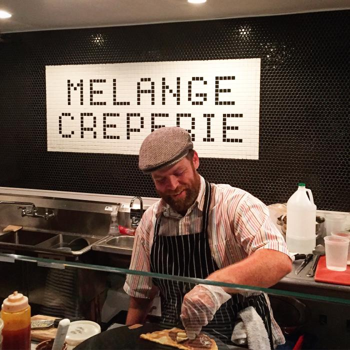 Melange Creperie - The Conservatory - Yo Mariana