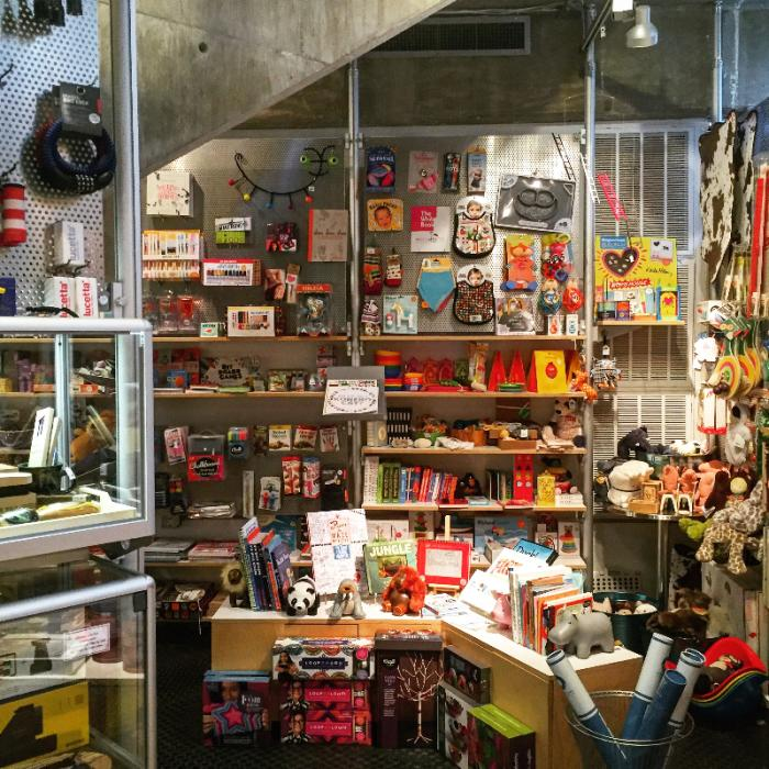 Gift Shop at Contemporary Art Museum
