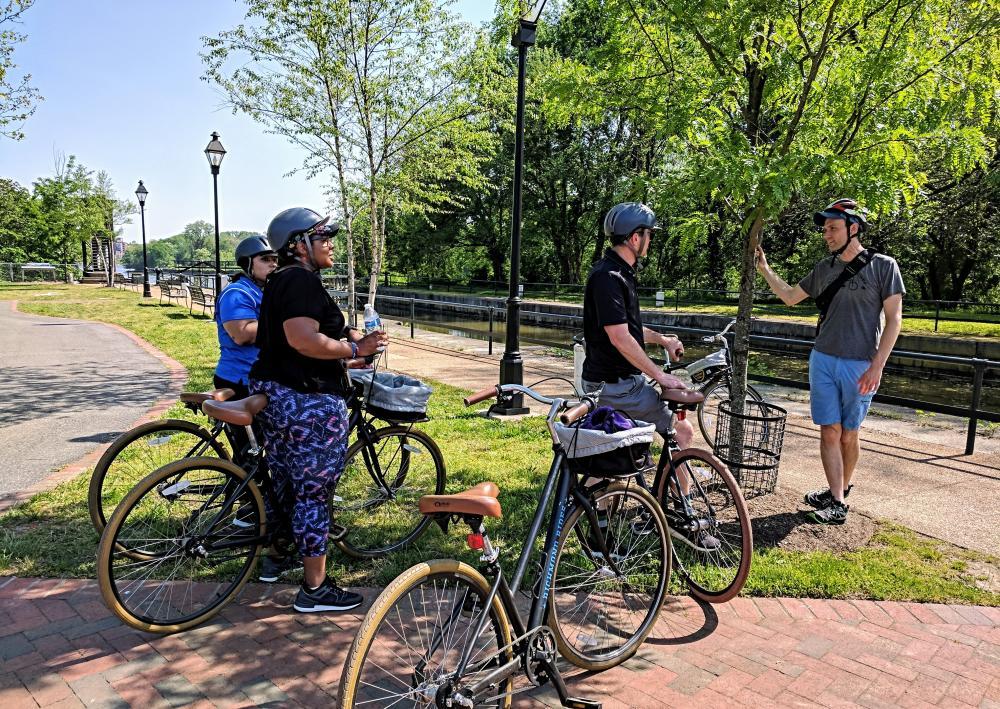 Richmond Rides Along the River bicycle tour