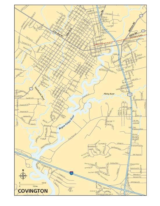 Covington Map