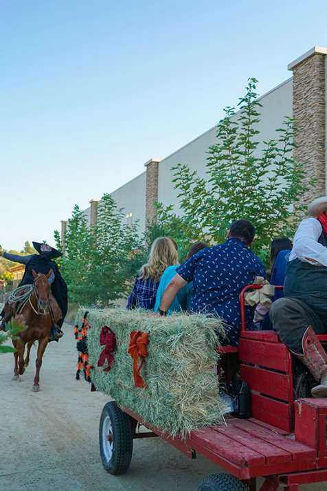 Haunted Hayrides at Vail Headquarters