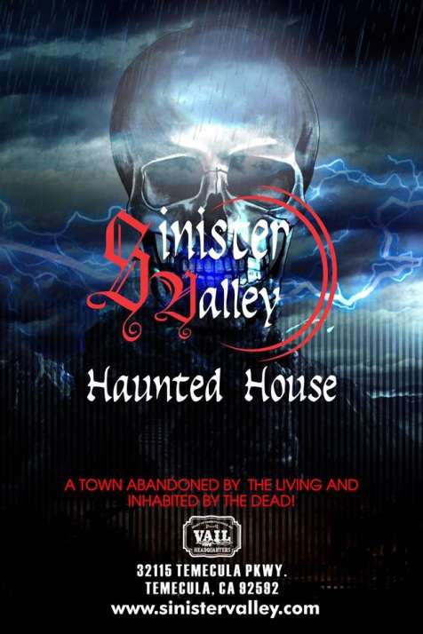 Sinister Valley Haunted House