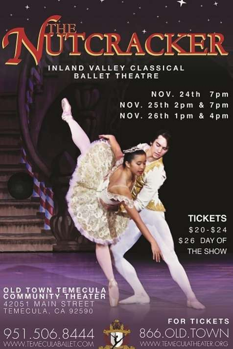 The Nutcracker Ballet Presented by Inland Valley Classical Ballet Theatre 2017