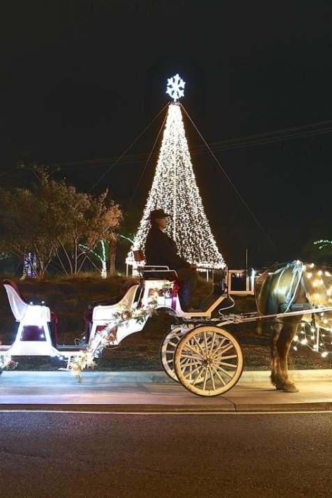 "Jingle Bell 'Sleigh"" Rides"
