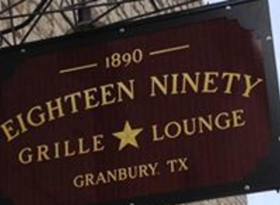 Eighteen Ninety Grille and Lounge Sign