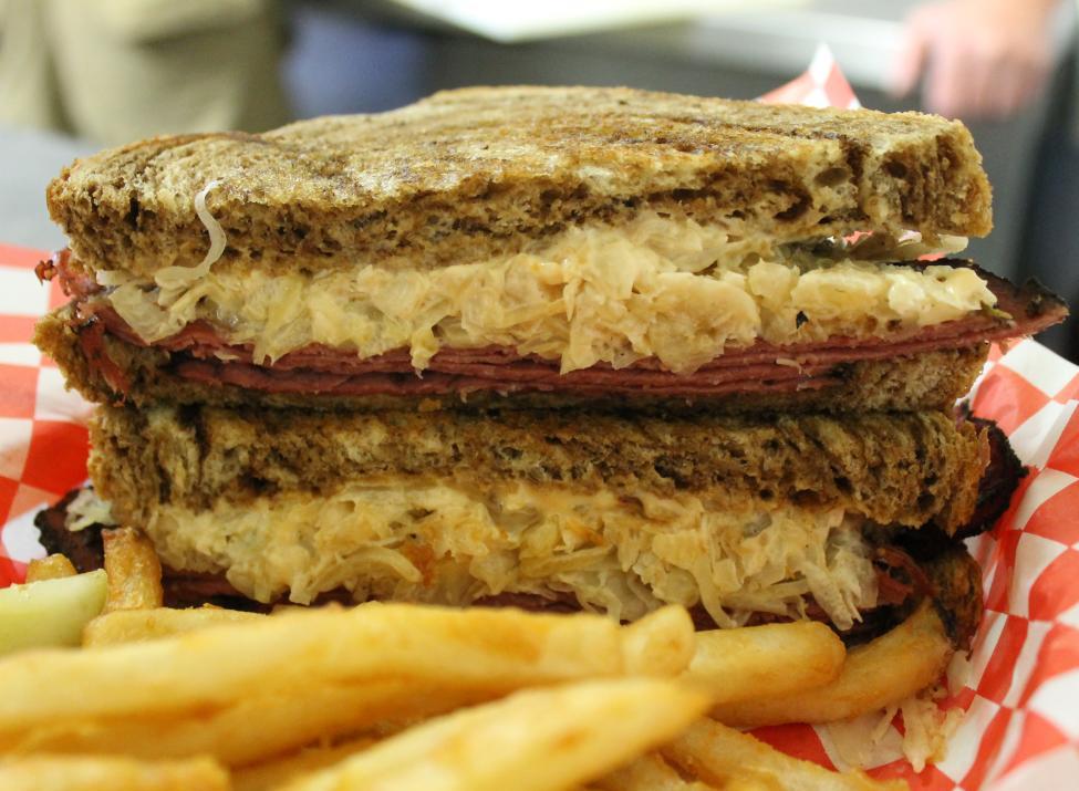 Our Mercedes sandwich.
