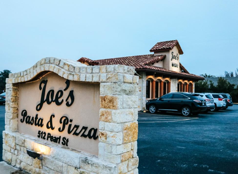 Joe's Pasta & Pizza