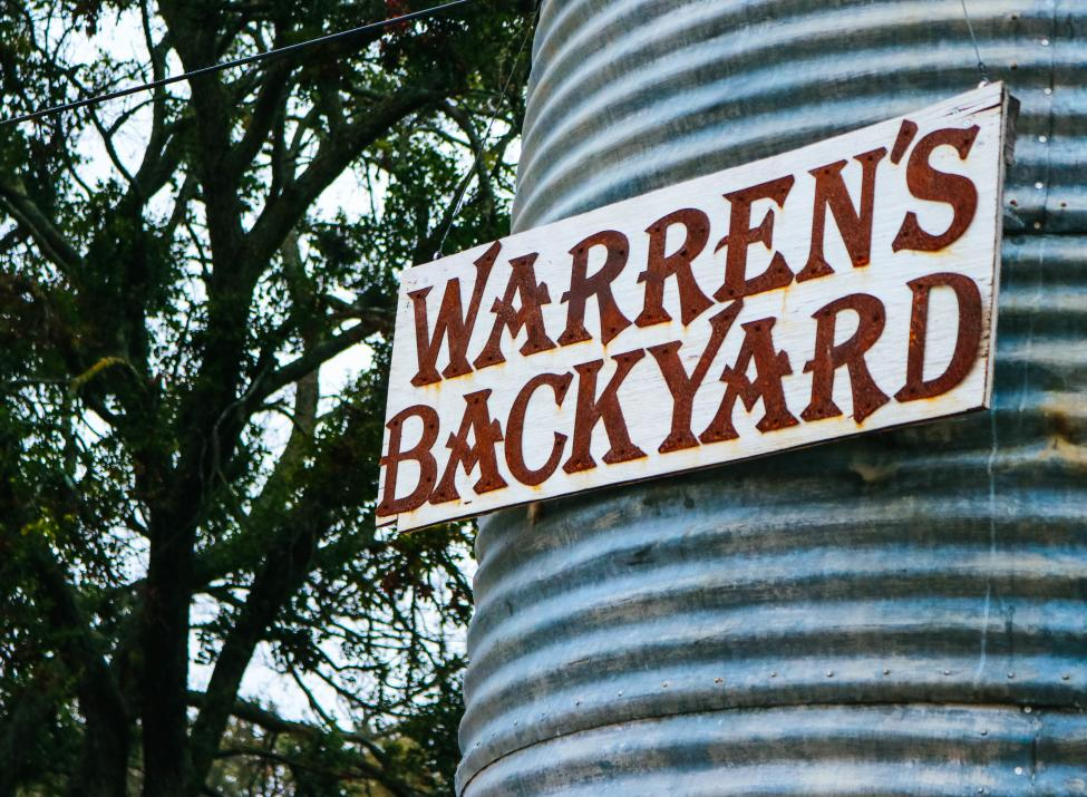Warren's Backyard