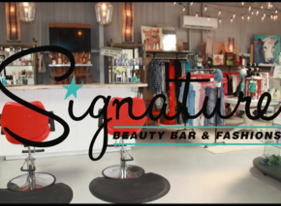 Signature Beauty Bar