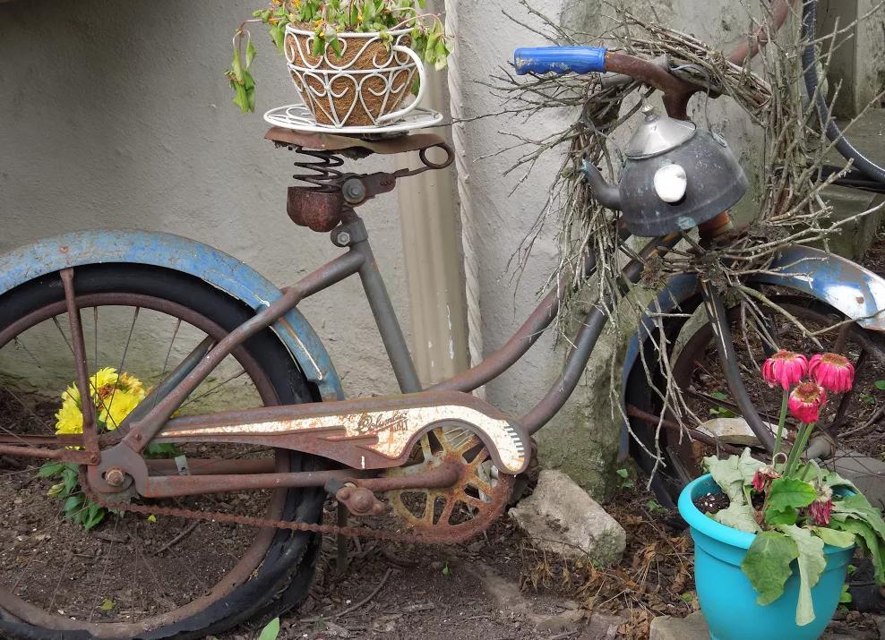 Bike at The Talking Teacup