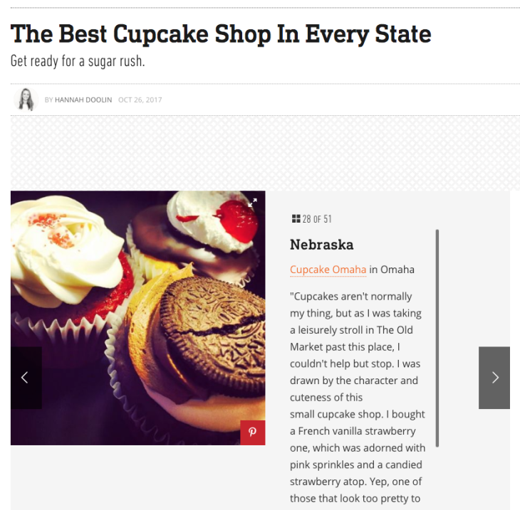 The Best Cupcake Shop in Every State