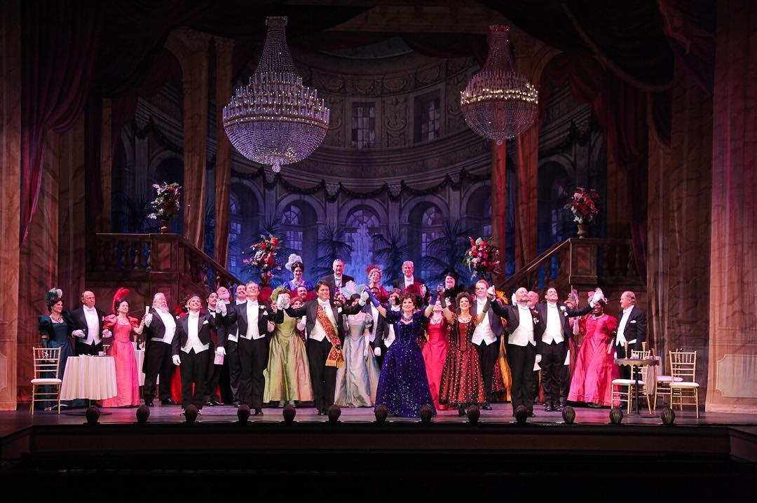 The Merry Widow performed by Pensacola Opera