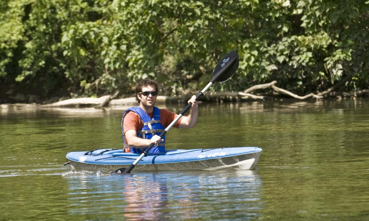 Kayaking on the Conodoguinet Creek