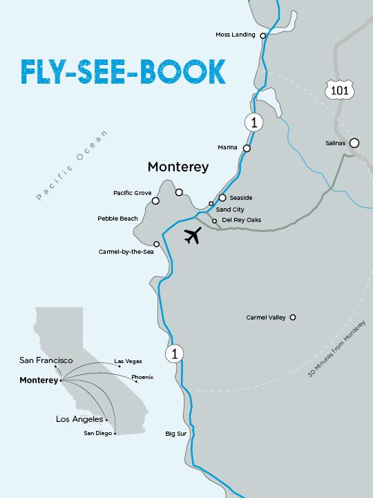 fly see book map