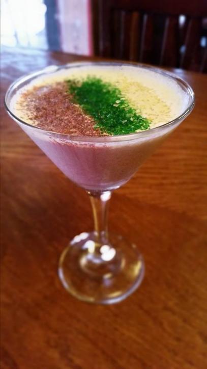 King Cake Martini | MacFarlene's Celtic Pub