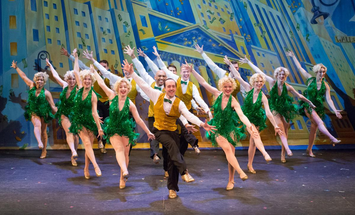 42nd Street at Bucks County Playhouse, In the Money performance