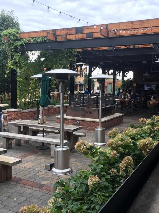 Founders patio in Grand Rapids