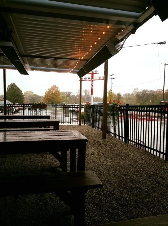 Cedar Springs Brewing Company patio in Grand Rapids
