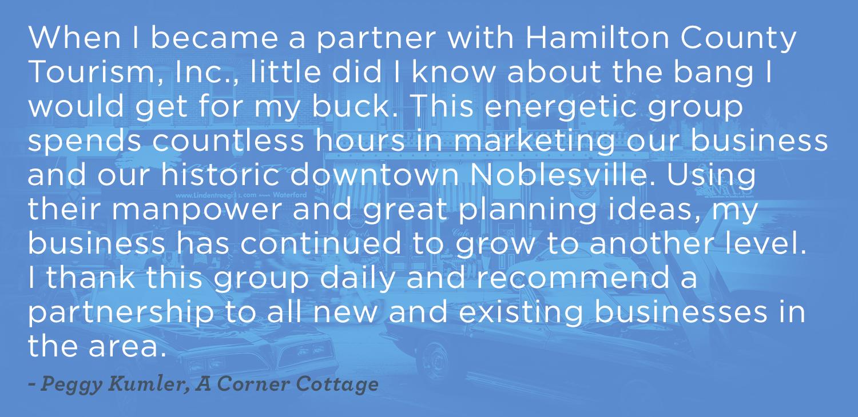 Corner Cottage Testimonial