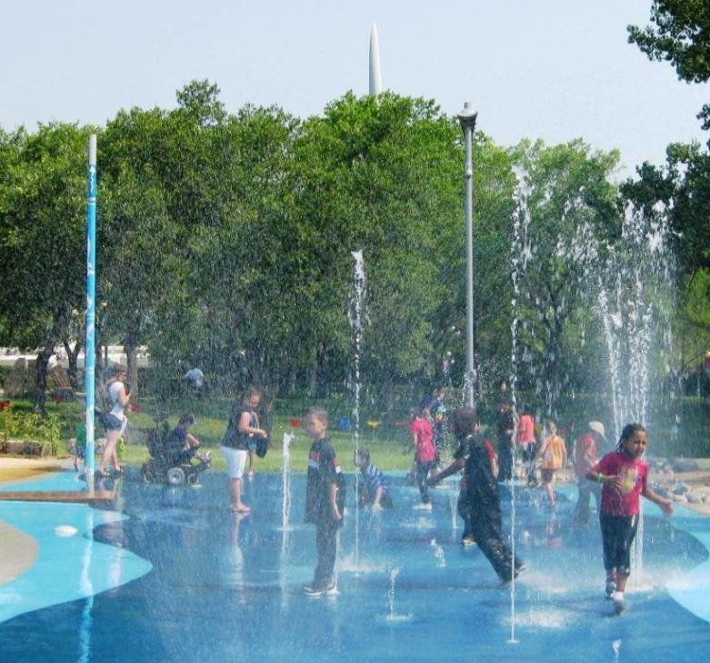 The Forks Splash Pad