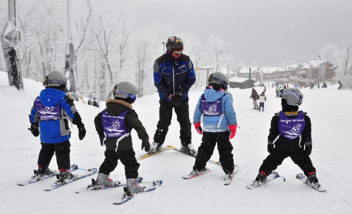 Copy of Tiny Tots Ski School, Seven Springs Mountain Resort